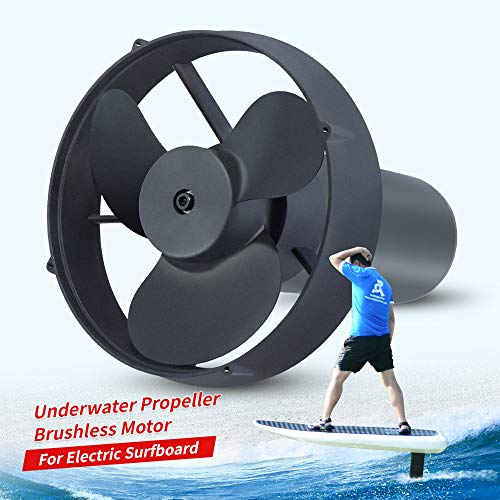 LowPriceBro Water Sports Waterproof Brushless Underwater Propeller Motor for Hydrofoil Airfoil Electric Surfboard Motor with 150A ESC