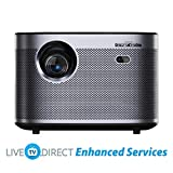 Home Cinema Projector, LiveTV.Direct Enhanced H3 Native 1080p HD 1900 ANSI Lumens Android 3D Smart TV Home Video Movie 4K Projector Built-in Harman/Kardon Hi-Fi Stereo Speaker