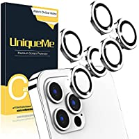 2-Pack UniqueMe 6.7 inch Camera Lens Protector Camera Cover Compatible with iPhone 12 Pro Max