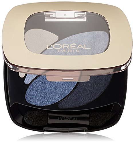 L'Oréal Paris Colour Riche Dual Effects Eye Shadow, Eternal Blue, 0.12 oz.