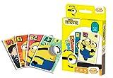 Juego de Cartas Shuffle Fun Minions 2 - Baraja de Cartas con 4 Juegos de Snap, Familias, Parejas y Juego de Accin
