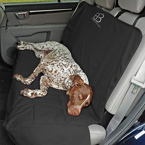 Petego Car Rear Seat Protector, Anthracite