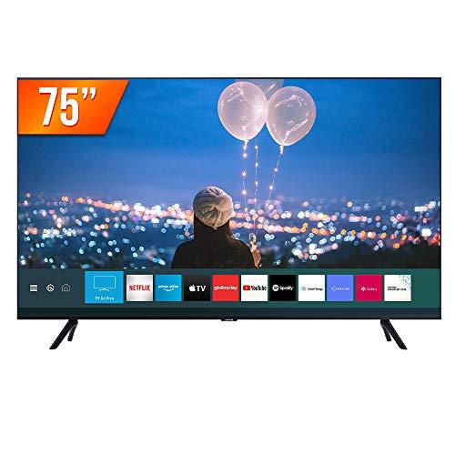 Smart Tv Samsung 75 Polegadas Led 4K Wifi Comando Voz UN75TU8000GXZD