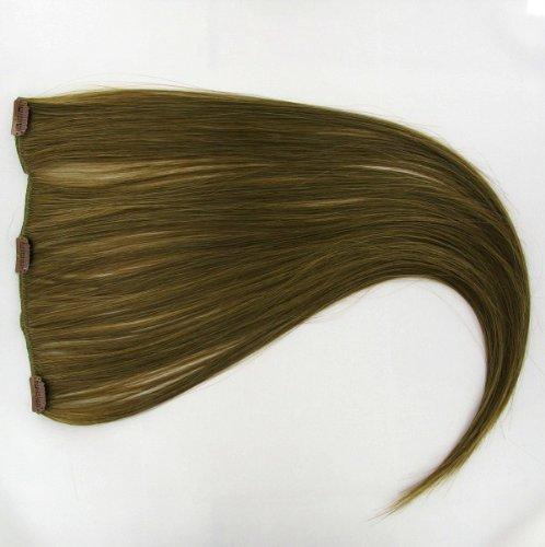 extensions à clip cheveux châtain clair doré 60 cm ref: 12