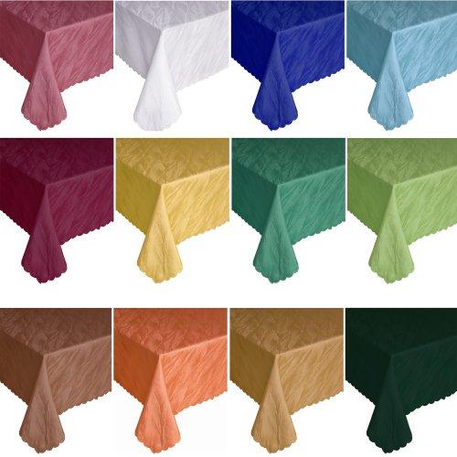 Quinnyshop damast tafelkleed in marmer design hoekig - grootte en kleur vrij te kiezen