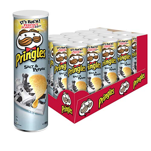 Pringles Salt & Pepper Chips | 19er Vorratspackung (19x200g)