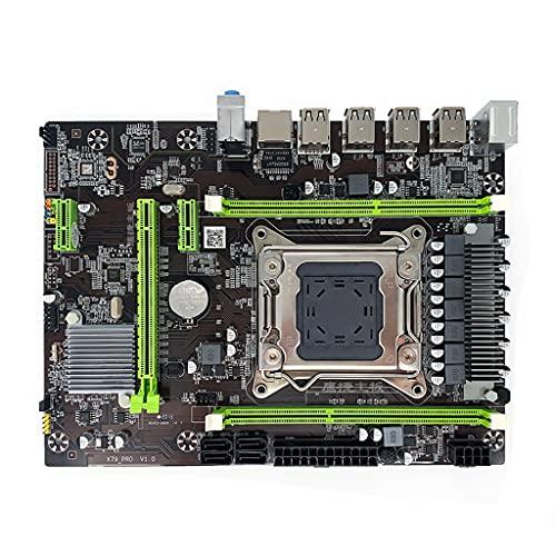 Placa base Meipai X79 Pro, LGA2011 compatible con procesador E5-2650 DDR3 E5 V1 V2 Xeon 2680 2640 2670 procesador
