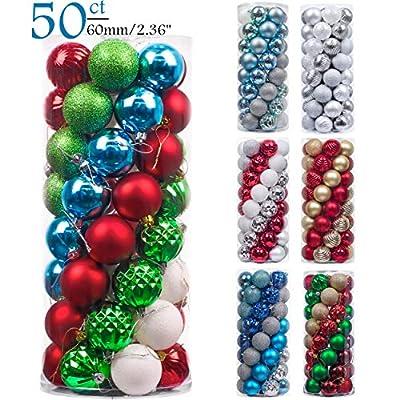 Valery Madelyn 50ct 6cm Christmas Ball Ornaments