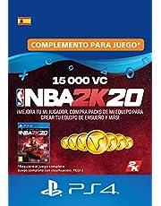 NBA 2K20 - 15,000 VC [Código de descarga PSN - Cuenta española]