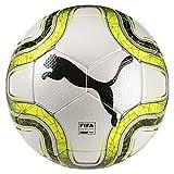 PUMA FINAL 2 Match (FIFA Quality Pro) Fußball, White-Lemon Tonic Black, 5