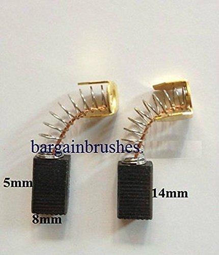 CARBON BRUSHES TO FIT POWER DEVIL PDG4002 RYOBI RCS 36 CHAINSAW DRILL BHS625 E42