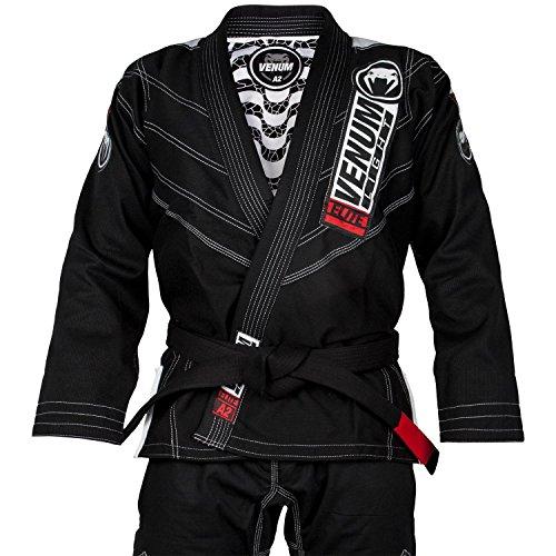 Venum Elite Light 2.0 BJJ Kimono, Hombre, Negro, A3