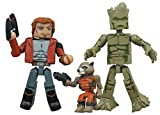 Marvel Minimates Animated Series 1 Guardians of the Galaxy 3 pack Exclusive Star-Lord Rocket Groot