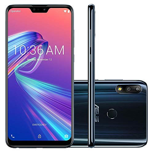 Smartphone ASUS Zenfone Max Pro M2, 6GB 64GB, Black Saphire