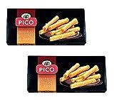 Picó - Pack incluye 2 Barquillos Rellenos de Turrón - 75 gr