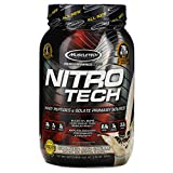 Muscletech Nitro Tech, Whey Isolate + Lean Muscle Builder, Cookies and Cream, 2.00 lbs (907 g)