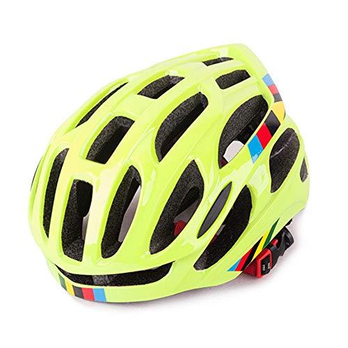 U/D Casco de bicicleta para vehículos eléctricos, para hombre y mujer, tamaño mediano, color verde