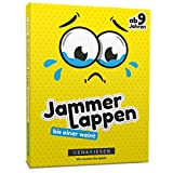 JAMMERLAPPEN - Das dramatisch lustige Kartenspiel bis Einer weint | Wichtelgeschenk | Familienspiel | Geburtstagsgeschenk | Reisespiel