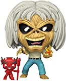 Funko- Pop Rocks: Iron Maiden-Number of The Beast (Skeleton Eddie) Juguete Coleccionable 45981 Multi...