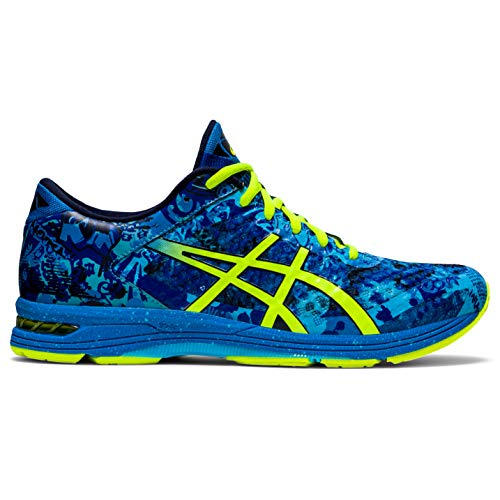 Asics Gel-Noosa Tri 11 Hombre Running Trainers 1011B301 Sneakers Zapatos (UK 11 US 12 EU 46.5, Directoire Blue Yellow 400)