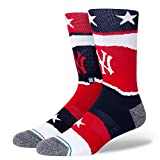 Stance Americana New York Yankees MLB Crew Socks UK talla 9-13