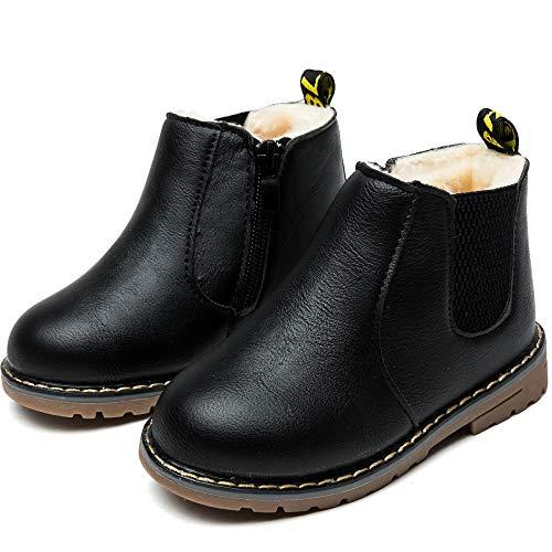Nasonberg Kinderstiefel Junge Mädchen Winterstiefel Schneestiefel Warme weiche Winterschuhe Boots,...