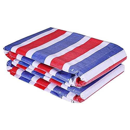 YANFEI 90 Gramm verdicktes doppelmembran farbig gestreiftes Tuch regenfestes Tuch Blume Wachstuch-Segeltuch wasserdichte Abdeckplane Sonnenschutz Kunststoff Regenschutz Tuch