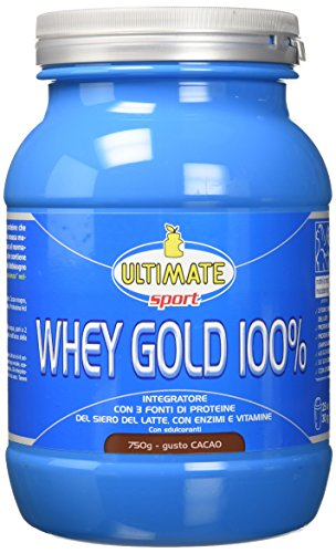 Ultimate Italia Whey Gold 100% Cacao - 750 g