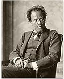 Lone Star Art Gustav Mahler Portrait – Romantischer