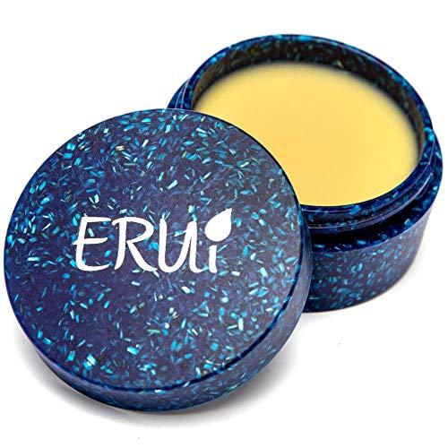 ERUi® Nachhaltiges Bio After Shave Balsam für Herren, 2-in-1 Gesichtscreme & Aftershave Balsam speziell für trockene Haut - Vegan, ohne Plastik, Parfum, Alkohol, Wasser & Parabene