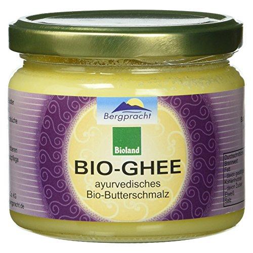 Bergpracht Bio-Ghee ayurvedisches Butterschmalz, 230g
