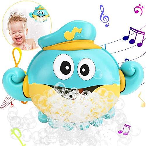 ZZAZXB Bebe Juguete de Baño de Pulpo, Ducha de Baño de Burbujas con Canciones Infantiles, Ideales Burbuja de Baño Juguetes para Niños