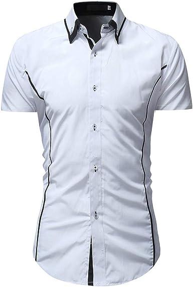 Camisas para Hombre, Mitiy, Blusa Formal de Verano, Informal ...