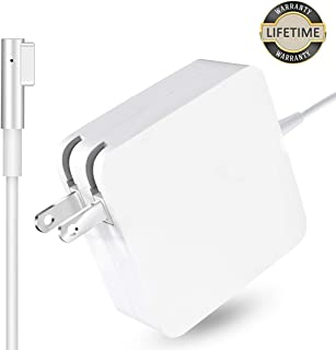 Mac Book Pro Charger, 60W Magsafe Power Adapter Magnetic L-Tip Connector Charger for Mac Book and 13-inch Mac Book Pro(Before Mid 2012 Models)