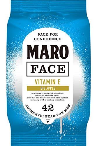 MARO(マーロ) 【クール】フェイスシート [ビッグアップルの香り] マンハッタン MARO マーロ 42枚 メンズ