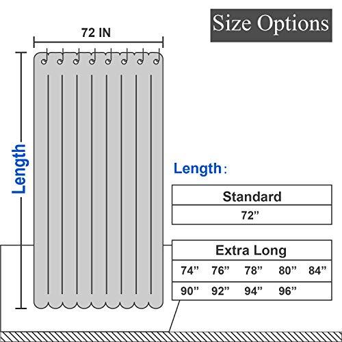 Waterproof Fabric Shower Curtain Liner 70