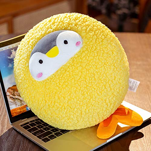 Ankepwj Kawaii Tempura Fried Shrimp Plush Penguin Toys Dibujos Animados Invierno Handwarmer Oiffce Nap Pillow Kids Lovely Gift Doll B