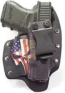 Infused Kydex USA: USA Punisher IWB Hybrid Concealed Carry Holsters for More Than 200 Different Handguns. Left & Right Versions Available.