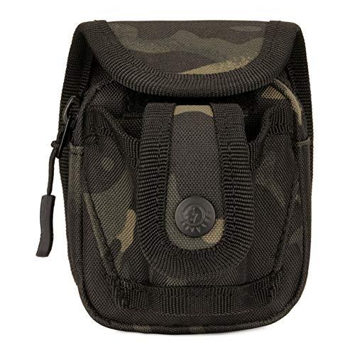 Paquete de Bolas de Acero para Deportes al Aire Libre Sawpy Bolsa de tirachinas de Nailon a través del cinturón Durable sin deformación para la Caza