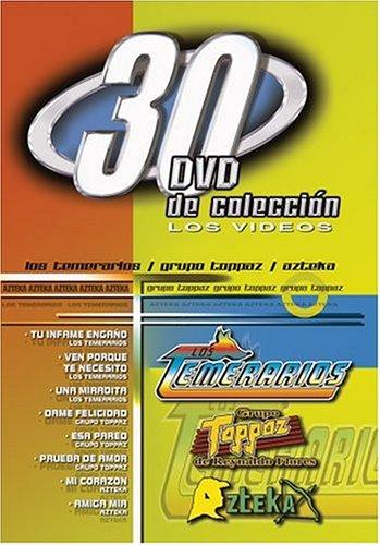 Los 30 DVD De Coleccion: Los Temerarios/Grupo Toppaz de Reynaldo Flores/Azteka