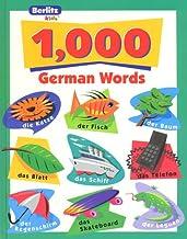 1,000 German Words (Berlitz Kids: 1000 Words)