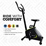 Reach B-200 Exercise Fitness Gym Cycle with Cushioned Seat for Home (Multi-Color)