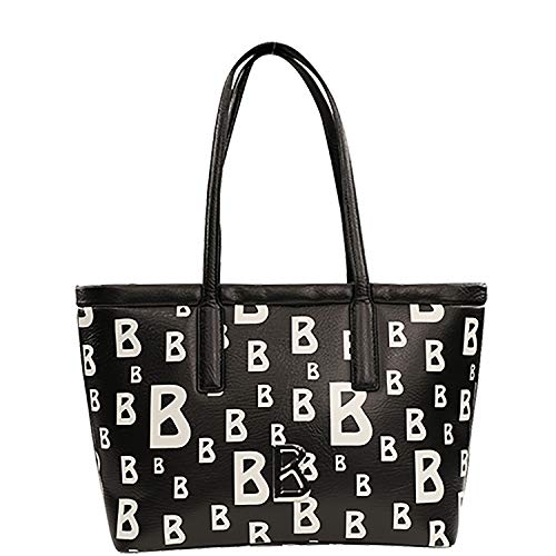 Bogner Arosa Mitra Shopper Lhz Tote - Bolso para la compra (14,5 x 28,5 x 47,5 cm), color Negro, talla 14.5x28.5x47.5 cm (W x H x L)