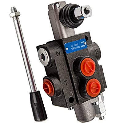 maXpeedingrods 1 Spool Hydraulic Directional Control Valve 13Gpm 3600Psi Hand Control for Small Tractors 40l/min from maXpeedingrods