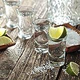 12 Schnapsgläser Shotgläser Set Glas 4cl | Standfest - Spülmaschinenfest | Pinnchen Gläser für Tequila Wodka - 2
