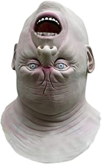 FUTULY Lifelike Human Face Halloween Scary Props Party Masquerade Cosplay Costume