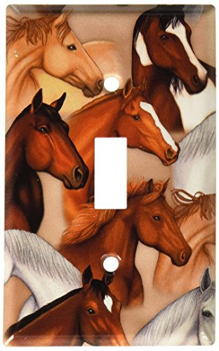 Art Plates - Dan's Horses Switch Plate - Single Toggle