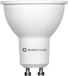 Beneito Faure - Bombilla LED de 8W ,GU10,60°, 4000K, luz fría