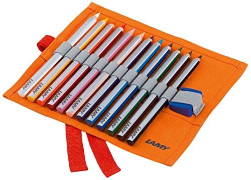 Lamy 1226067 4-Plus Farbstift Set Stoffrolle Modell Nummer W 439