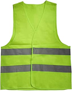 mymerlove Reflective Warning Vest Working Clothes High Visibility Protective Vest
